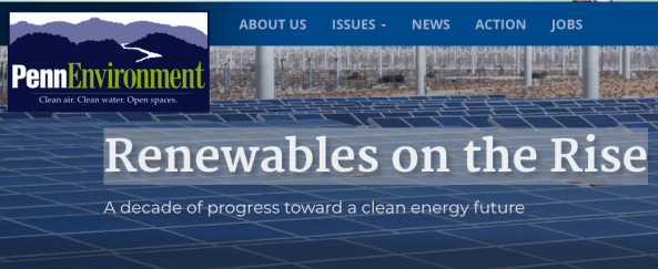 Renewables on the Rise < Penn Envt