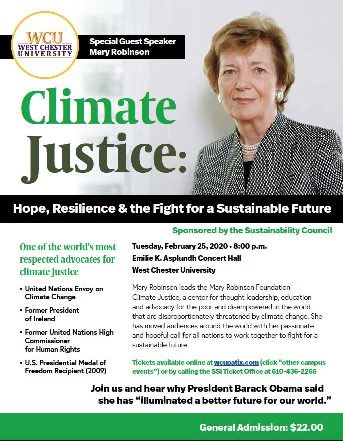 Mary Robinson WCU