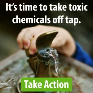Toxic chemicals off tap